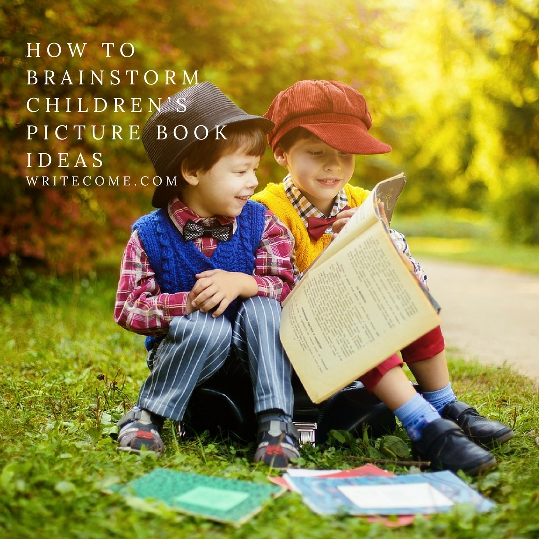 How To Brainstorm Children's Picture Book Ideas