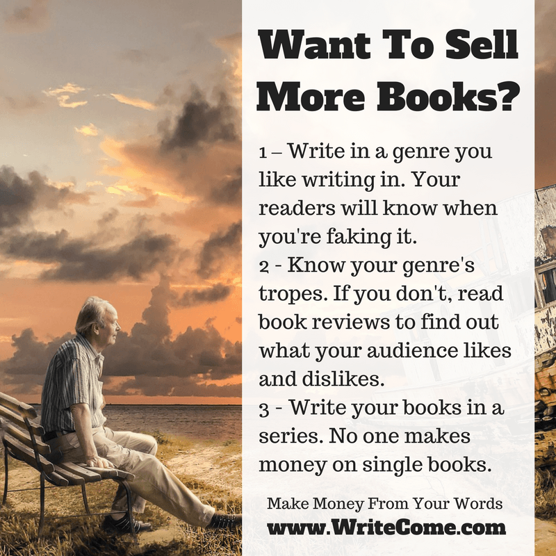 how to sell books