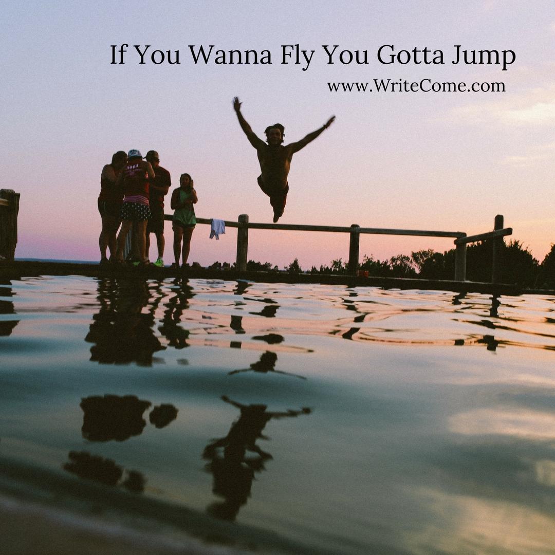 If You Wanna Fly You Gotta Jump