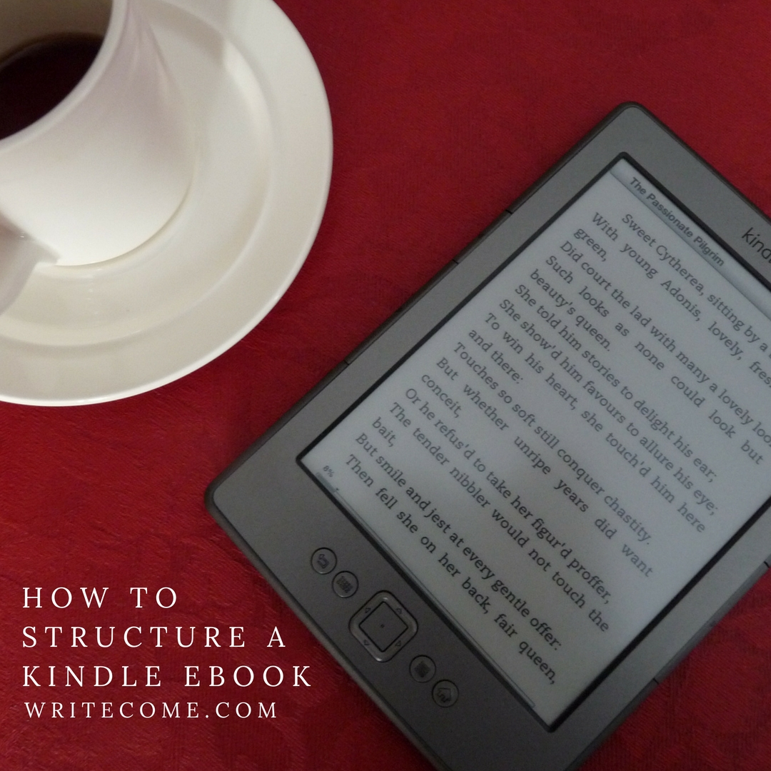 How To Structure A Kindle eBook