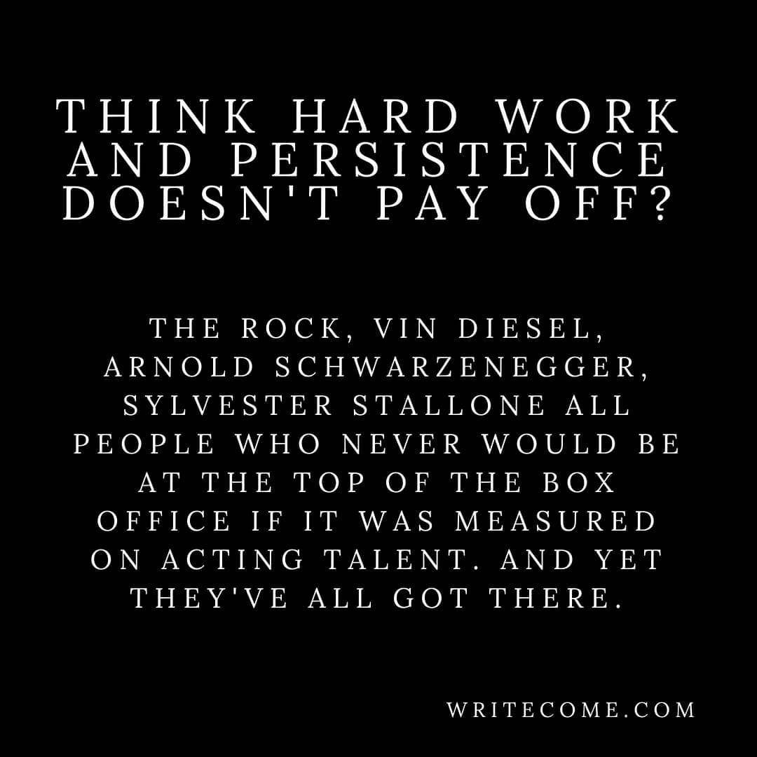 Think Persistence Doesn't Pay Off?