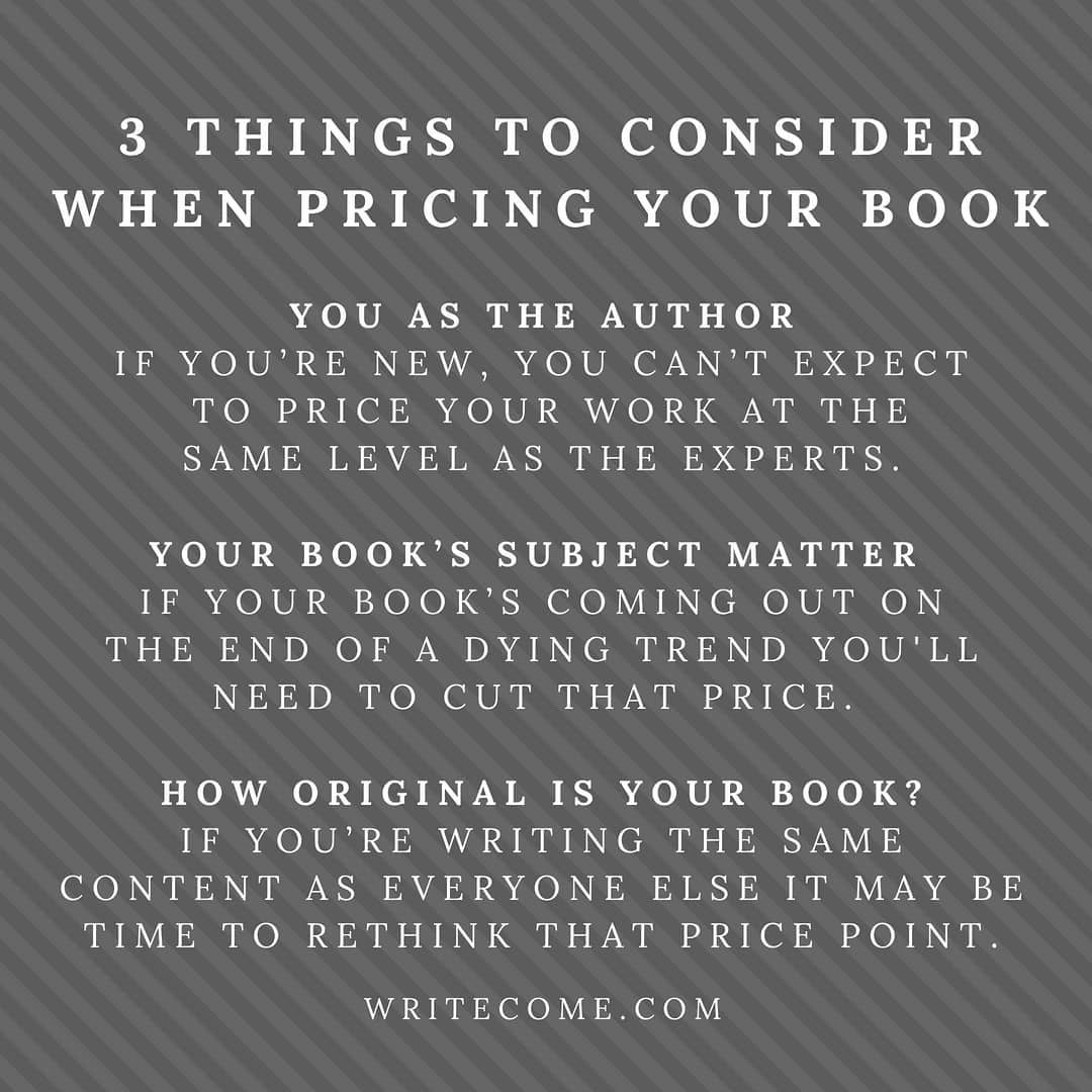 What Price Should Your Book Be?