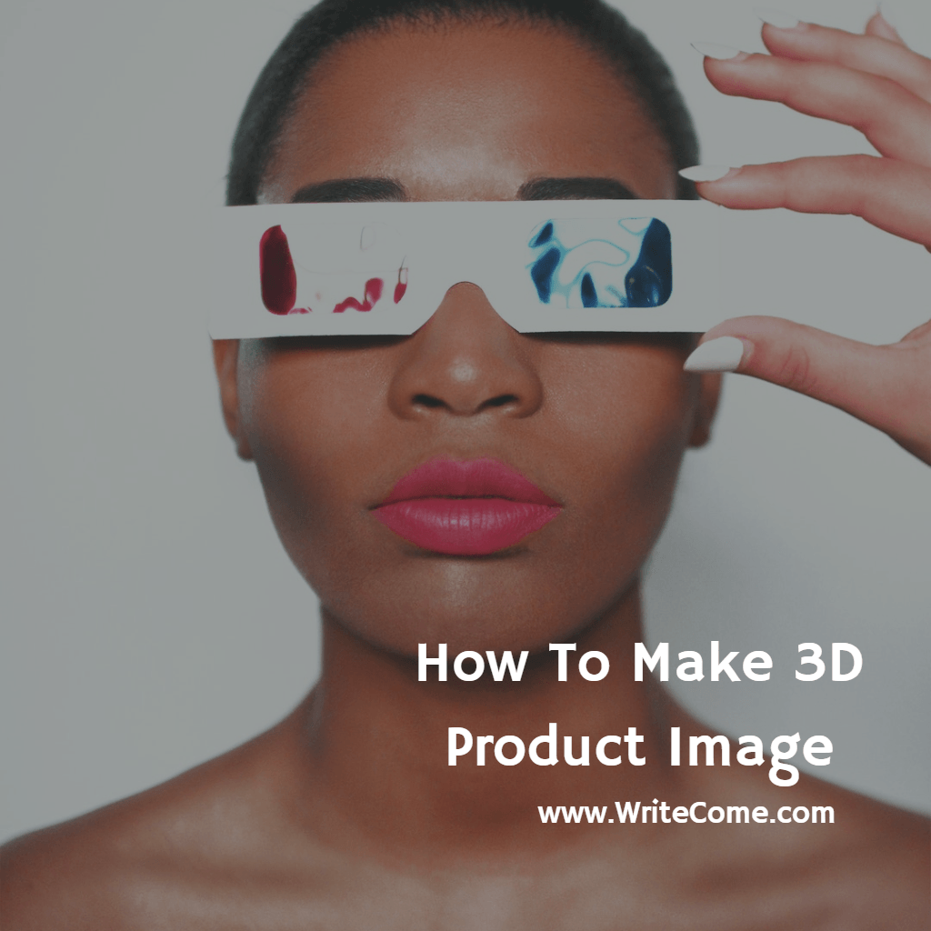 How To Make 3D Product Image