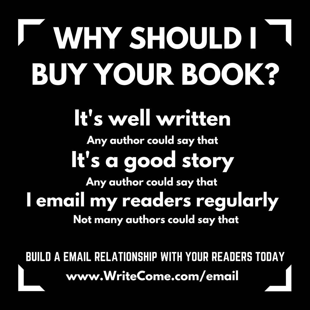 Why Should I Buy Your Book?