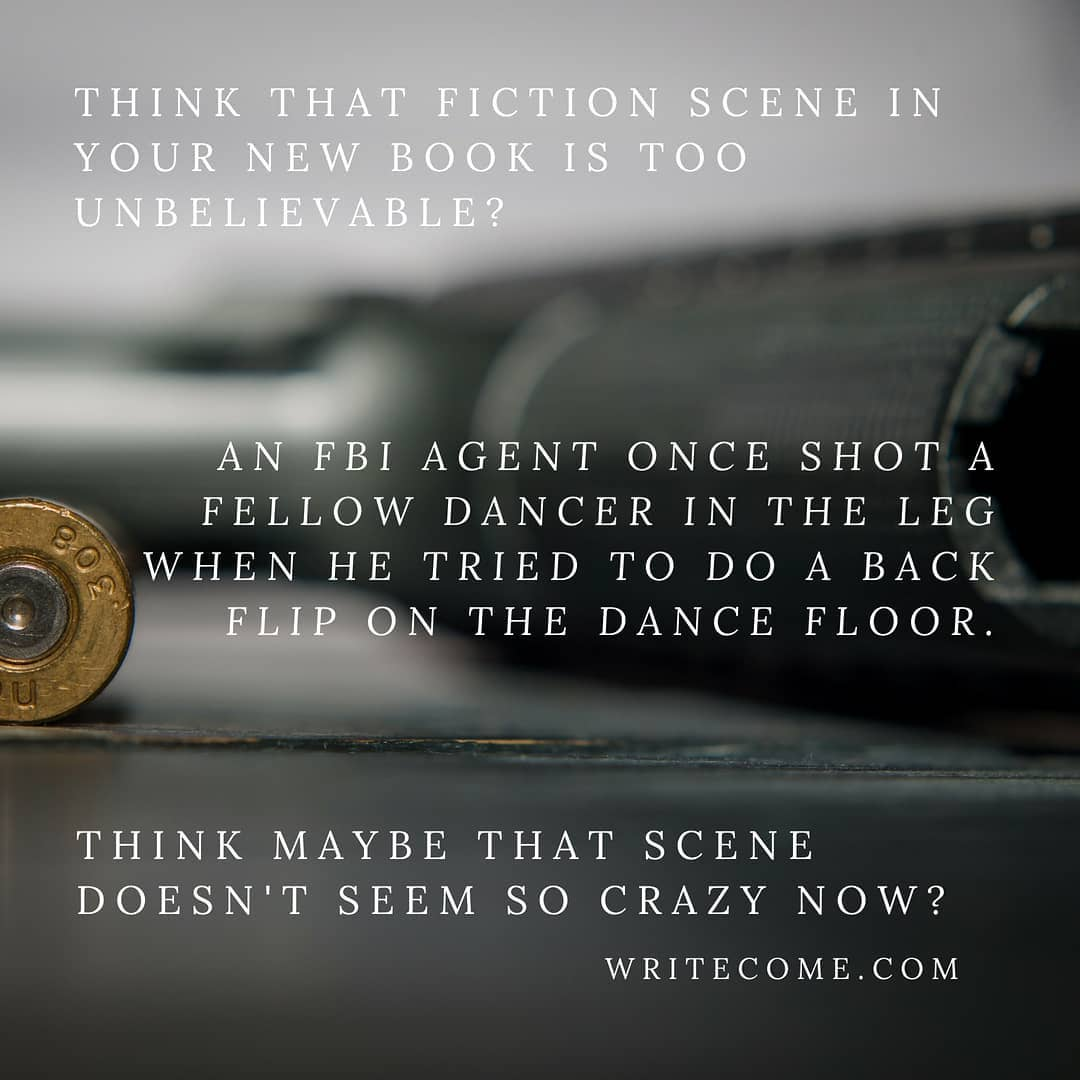 Think Your Fiction Idea Is Crazy?