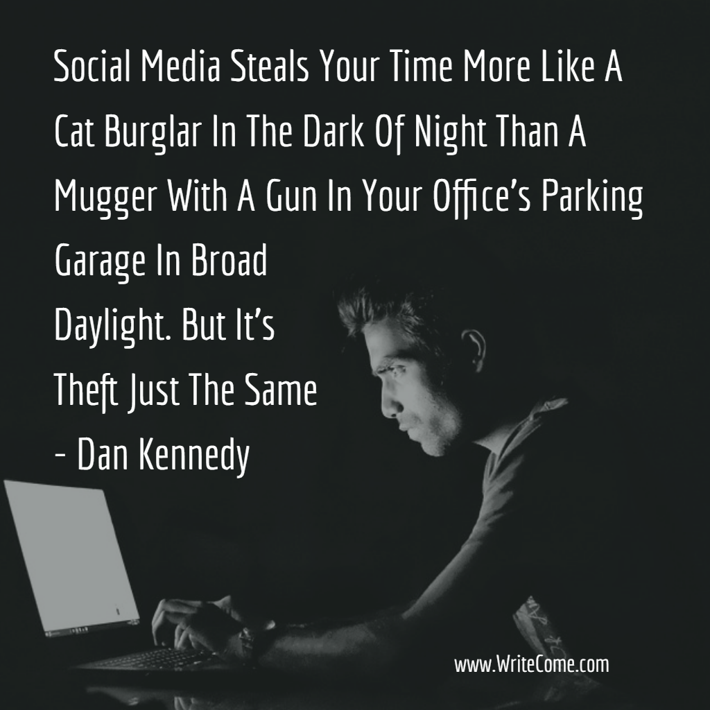 Social Media Steals Your Time...