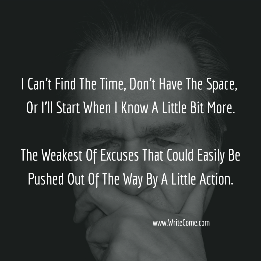 The Weakest Of Excuses...
