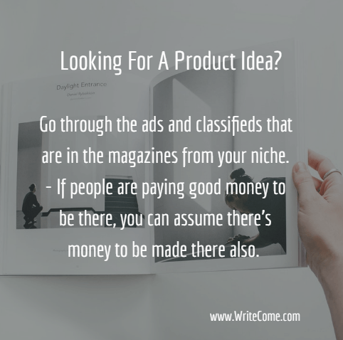 Looking For A Product Idea?