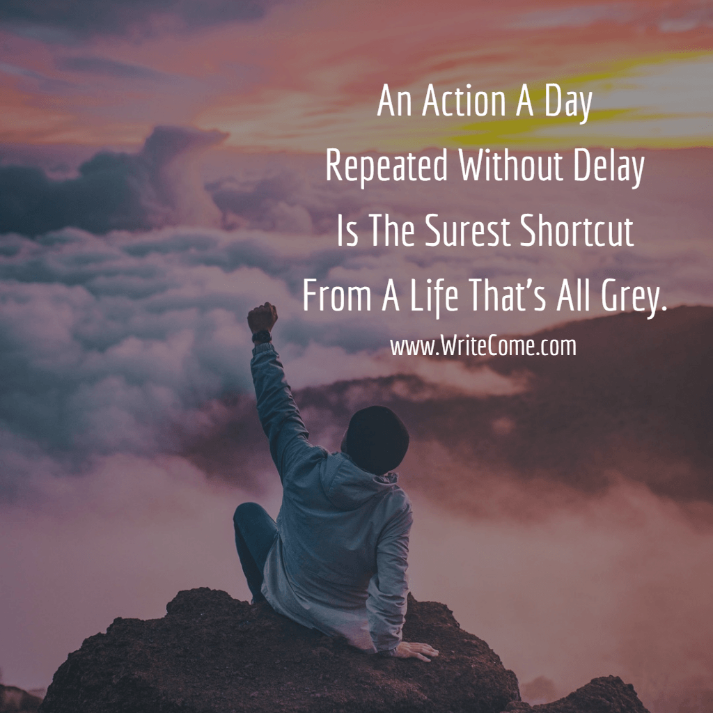 An Action A Day...