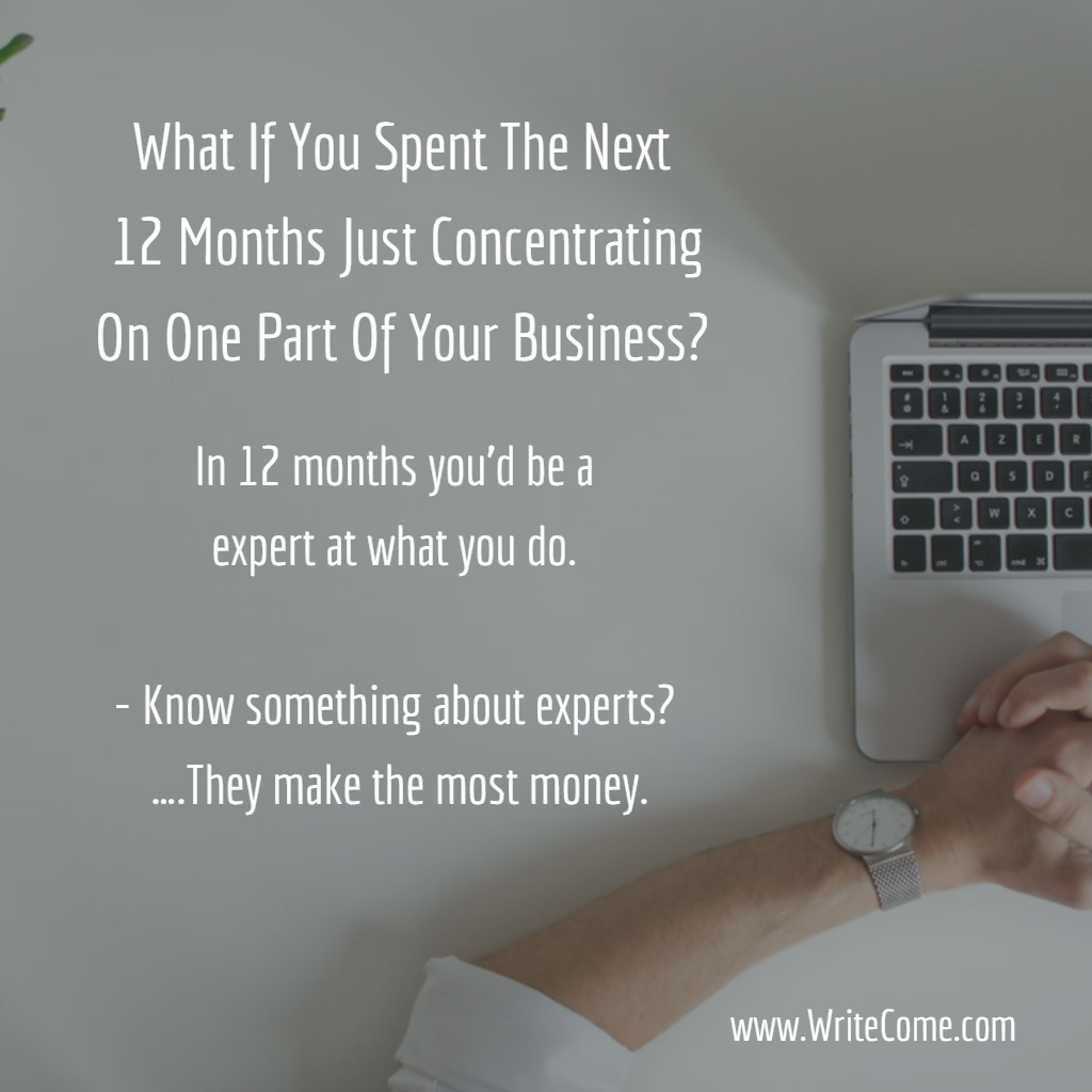 Why Not Become A Twelve Month Expert?
