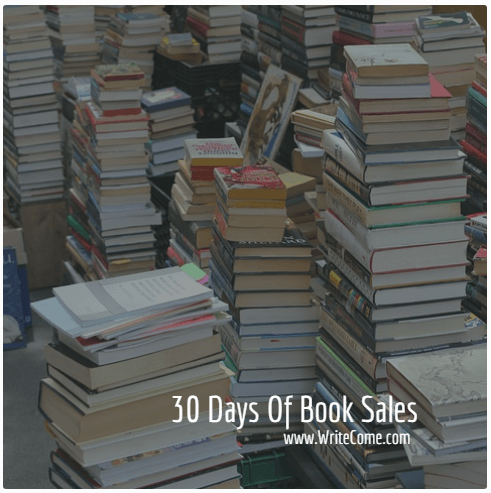 30 Days Of Book Sales