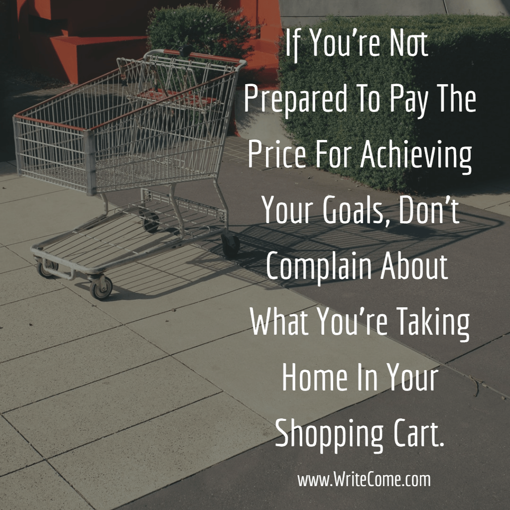 Not Happy With Your Shopping Cart?...