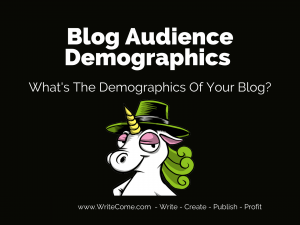 - What's The Demographics Of Your Blog?