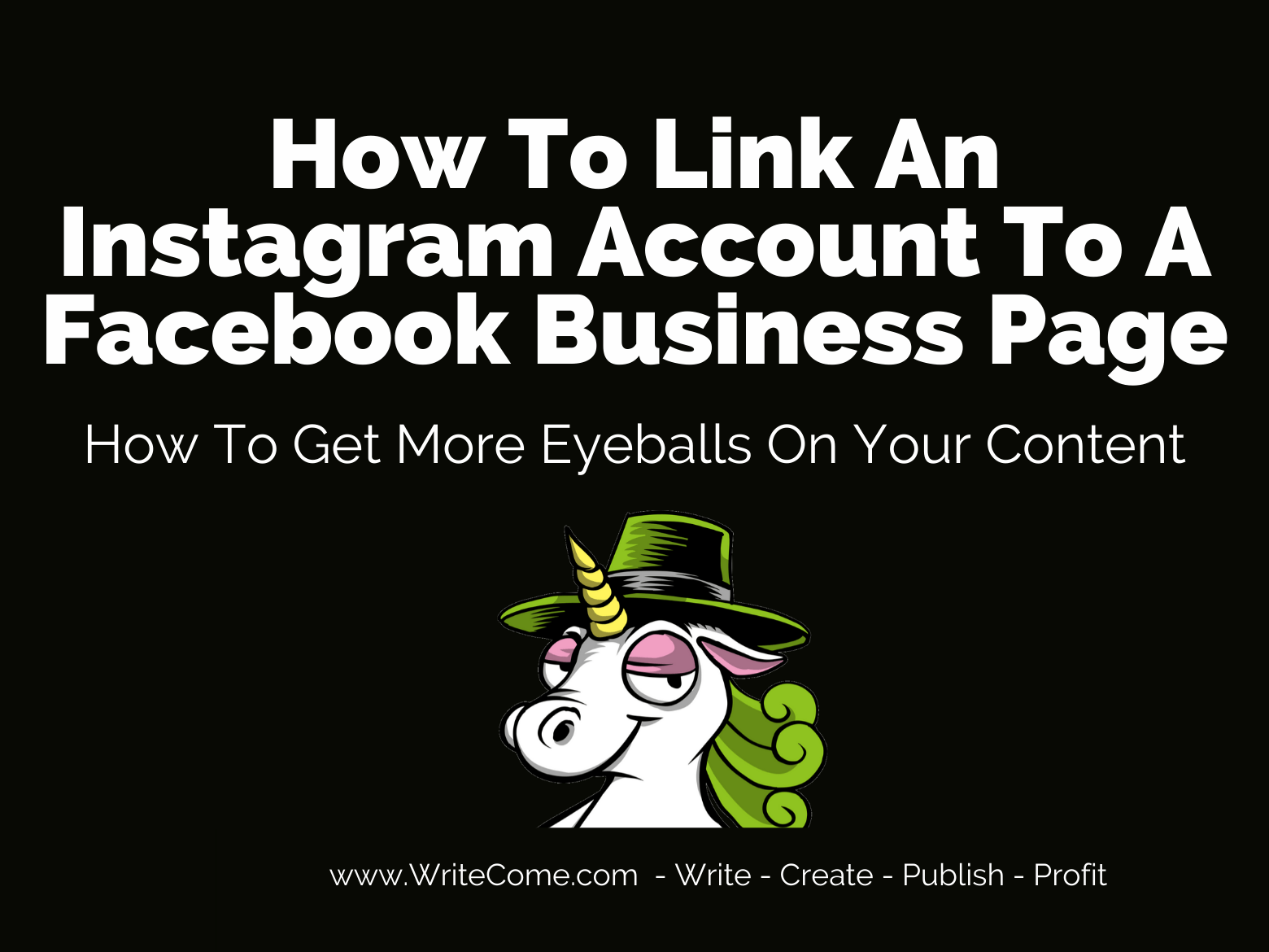 How To Link An Instagram Account To Facebook