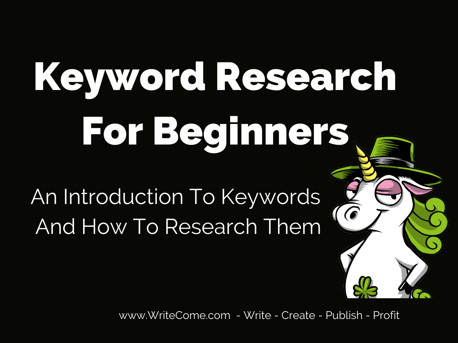 Keyword Research For Beginners