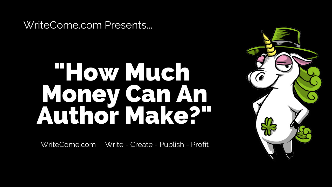 How Much Money Can An Author Make?