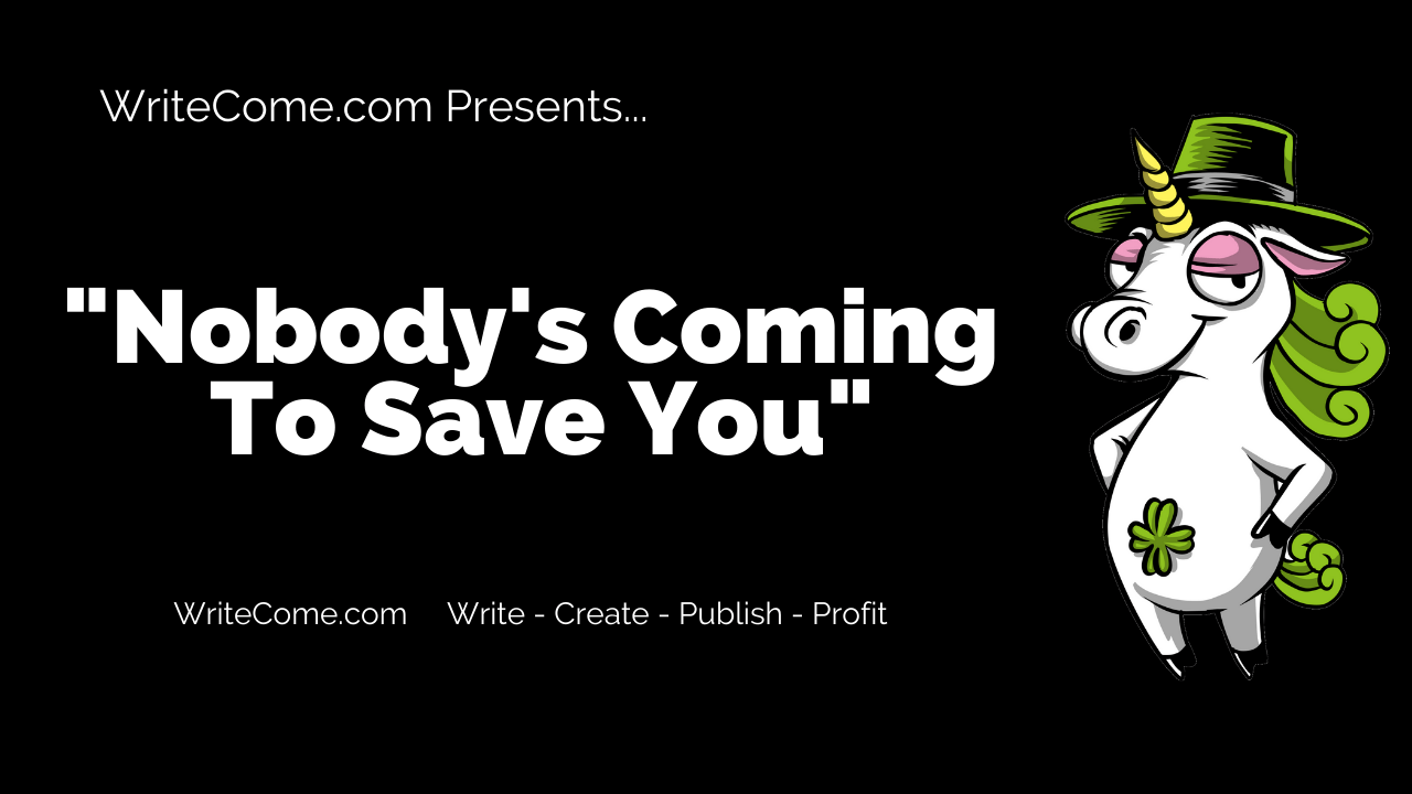 Nobody's Coming To Save You