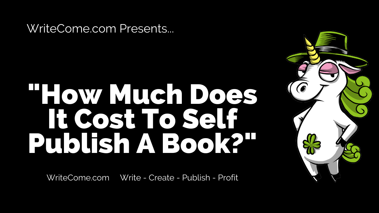 How Much Does It Cost To Self Publish A Book?