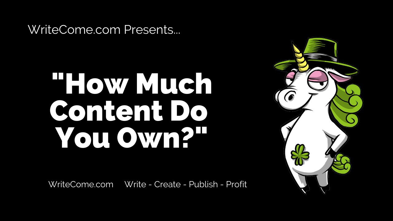 How Much Content Do You Own?