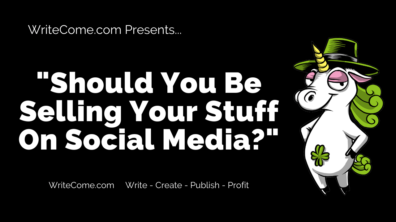 Should You Be Selling Your Stuff On Social Media?
