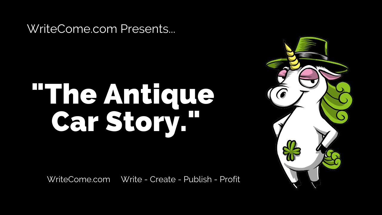 WriteCome - The Antique Car Story