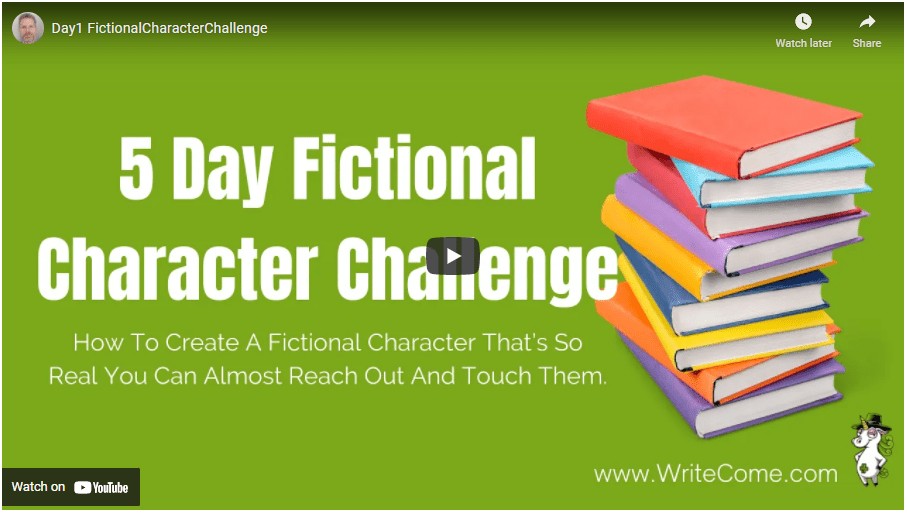 how to create a fictional character
