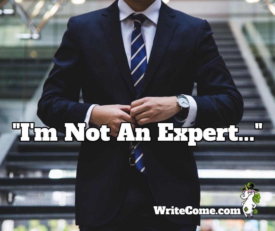 I'm Not An Expert...