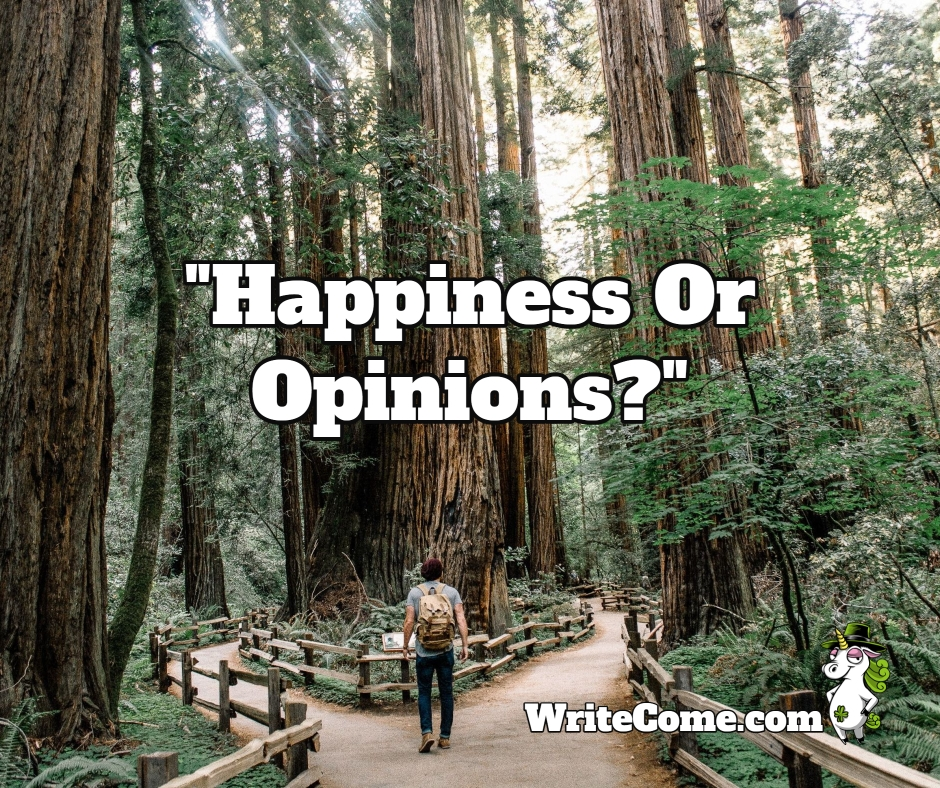 Happiness Or Opinions?